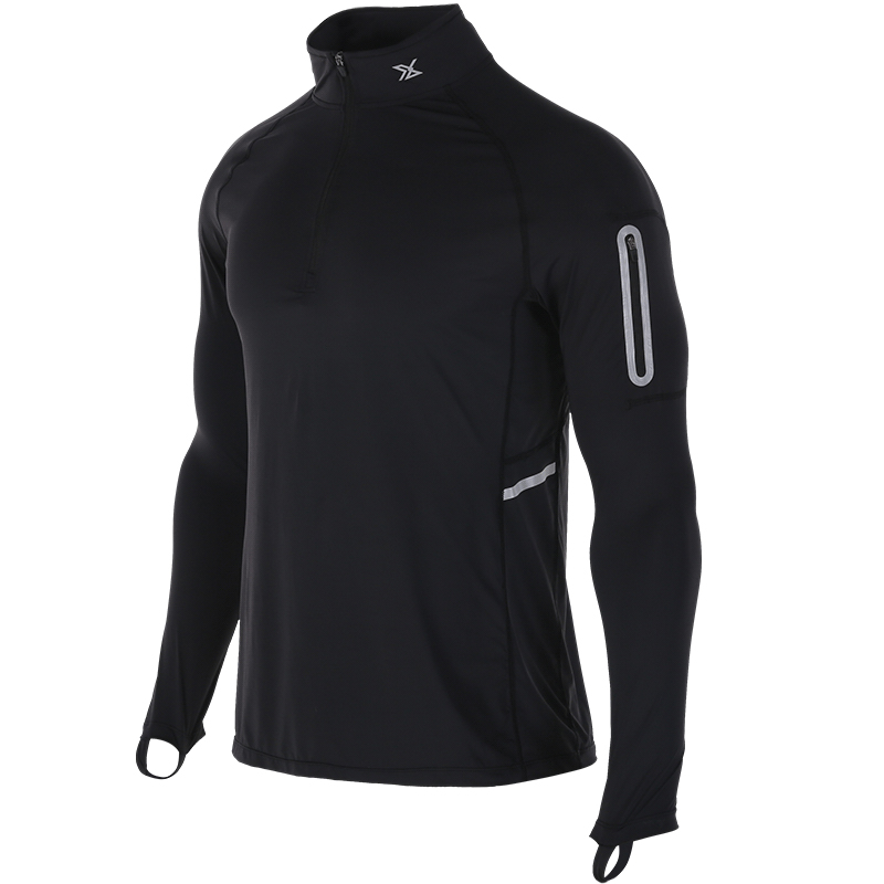 New Running Jackets Men Quick Dry Men Soccer Jackets Compression Long Sleeve Running GYM Top For Men Gym Fitness Running Jackets