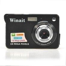 Gift Cheap 18Mp Max 2MP CMOS Sensor Digital Camera Still Photo Camera with 2.7″ Screen Lithium Battery 32GB SD Card Extension