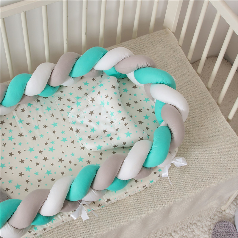 Baby Mattresses For Bed Portable Baby Lounger For Newborn Crib Breathable And Sleep Nest With Pillow New Baby Bassinet For Bed