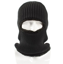 3-in-1 Winter Knitted Hat Thicked Fleece Lined Neck Scarf Beanies Warm Skull Cap Motorcycle Face Mask Balaclava Shield