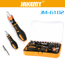 цена на JAKEMY 43 In1 Cr-v Multi Tool Set Hand Tools Repair Tool Kit Precision Screwdriver Set Tool Box for Cell Phone Laptop Electronic