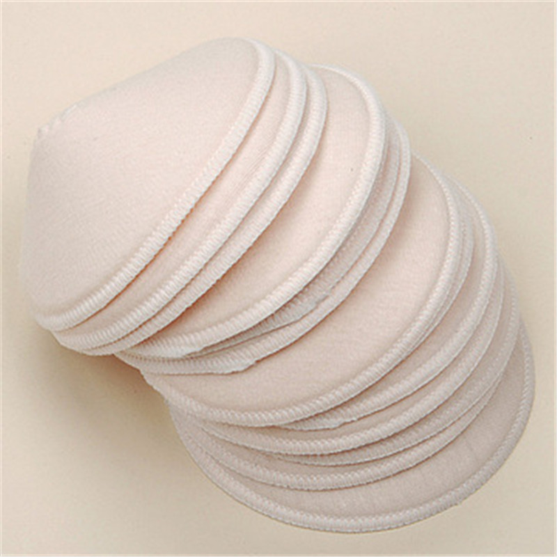 4piece Cotton Reusable Galactorrhea Washable Nursing Breast Pads Thickening Spill Prevention Breast Pad For Mommy Breast Feeding