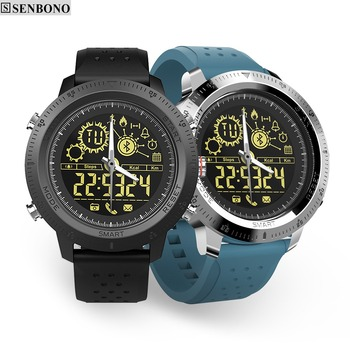 SENBONO NX02 Sport Activity Tracker Calories Pedometer Smartwatch Stopwatch Call SMS Reminder 33-month Standby Time Smart Watch