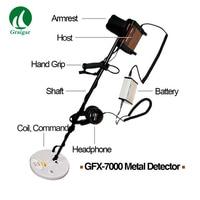 GFX7000 Long Range Underground Metal Detector for Treasure Hunt Deep Gold Silver Copper Mining Finder