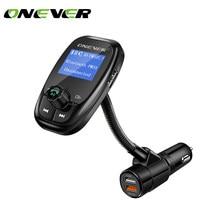 Onever-modulador fm giratorio con Bluetooth para coche, reproductor MP3 de carga rápida para xiaomi roidmi 2s, estilo de coche para bmw e46