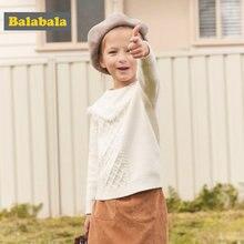 5195c9cd2f187 Balabala Enfant Fille Gaufré Chandail avec Fringe Enfants Fille Pull Pull  En Tricot avec Câble Nervures