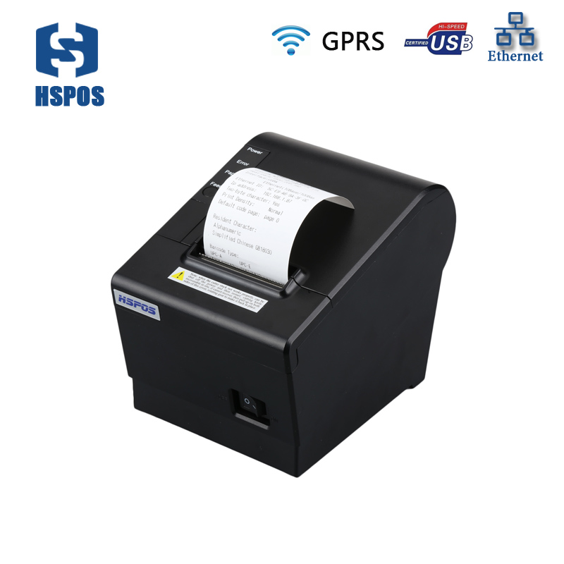 58mm GPRS pos thermal receipt printer high-speed printing free SDK MQTT Could Printing Solution HS-K58CULWG used in store 2017 new lpq80 thermal printer unique personality pos printer high quality 58mm thermal receipt printer printing speed fast