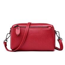 Горячая брендовая маленькая сумка на плечо для женщин 2018 сумка-мессенджер женская кожаная сумка кошелек и сумки женская сумка через плечо