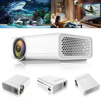 1800LM YG510 Universal 120 Inch HD Portable Mini LED Pocket Projector for Home and Entertainment Supporting Wired Sync Display