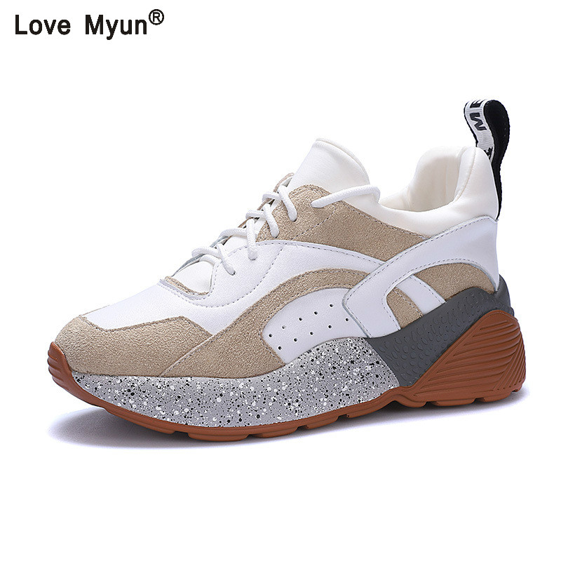 Fashion Sneakers Air Mesh Woman Shoes 2018 Spring Tenis Feminino Casual Shoes Outdoor Walking Shoes Women Lace-up Ladies Shoe mwy women breathable casual shoes new women s soft soles flat shoes fashion air mesh summer shoes female tenis feminino sneakers
