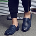 New Men Shoes luxury Brand Moccasin Leather Casual Driving Oxfords Shoes Men Loafers Italian Shoes for Men Sapatos Masculinos