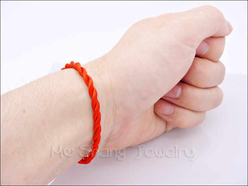 Лидер продаж 2018 г. Модные 12 видов стилей красной нитью строка браслет счастливая веревка браслет для Для женщин Для мужчин Lover Подарок для пары