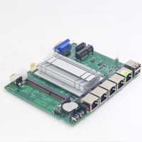 Carte mère Pfsense Mini ITX sans ventilateur avec processeur Intel Celeron J1900 4 ports LAN Gigabit