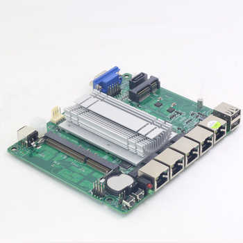 Pfsense Mini ITX Motherboard Fanless with Intel Celeron J1900 Processor 4 Gigabit LAN ports Intel NIC apply for Firewall Router - DISCOUNT ITEM  29% OFF All Category