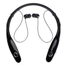 Спортивные Bluetooth наушники, беспроводная стерео гарнитура Bluetooth 14 часов, музыкальные наушники, гарнитура с шейным ободом для xiaomi, iphone 7
