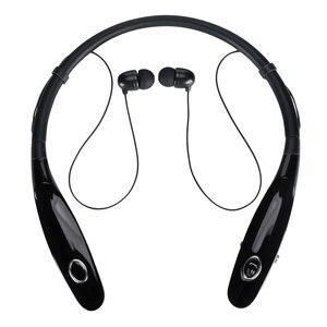 Image 1 - スポーツbluetoothイヤ14時bluetoothヘッドセットの音楽ヘッドフォンハンネックバンドイヤフォンxiaomi iphone 7
