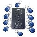 Envío Gratis teclado Control DE ACCESO RFID proximidad Control DE ACCESO sistema 125 Khz 10 tarjetas envío