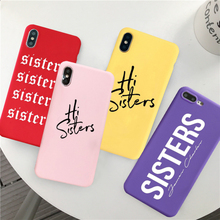 GYKZ Sisters James Charles Phone Case For iPhone 7 XS MAX XR X 8 6 6s Plus Soft Siliconet Back Cover For iPhone XR Fashion Coque цена и фото