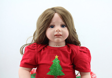 24-inch long-haired simulation of small girls dolls high-end gift to play a family of toy packages