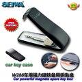 Accesorios del envío del coche imán de gran alcance clamshell automóvil piezas de emergencia magnética organizador caja caja del portatarjetas W288