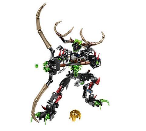 XSZ 611-3 Biochemical Warrior BionicleMask of Light Bionicle Umarak Hunter Building Block Compatible With Legoings 71310 Toys