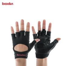 BOODUN Women Half Finger Fitness Gloves Weight Lifting Gloves Stretch Lycra Dumbbell Yoga Body Building Sports Equipment цена