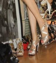 Kostenloser Versand Top Qualität Satin Oberen High Heels Sandalen peeptoes mit Elegante Hochzeit Schuhe Top-qualität Formale Kleid schuhe