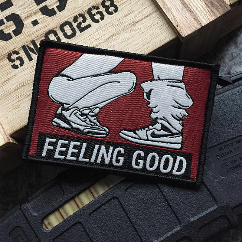 Sexy Sexo Engraçado adulto Joke patch apreciar a chupar SENTIMENTO BOM Sujo Provérbios Do Punk Rock Do MOTOCICLISTA Patches de crachá Para packbag