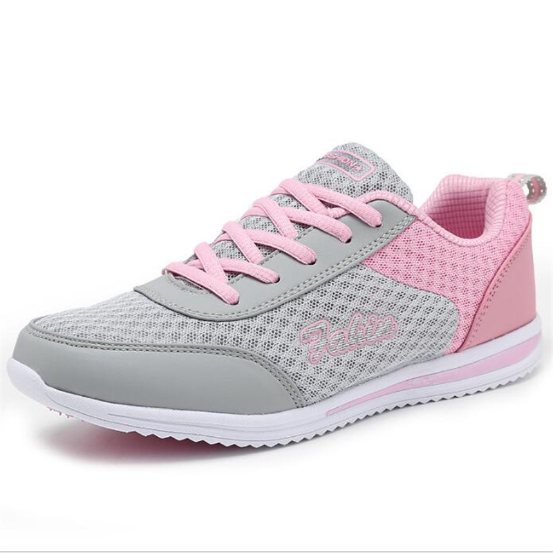 2018 summer new women fashion sneakers breathable women shoes Lace-Up Leisure Female Shoes Woman Breathable Tenis Feminino