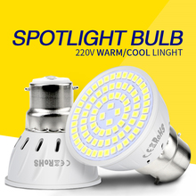 GU10 Led Bulb E27 Led Lamp 220V E14 Spot Light Bulb gu5.3 Corn Bulb MR16 Spotlight Lamp Led Bombillas 2835 B22 4W 6W 8W Ampoule цена