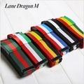 [Lane Dragon] Hot Sale Fashion Casual Belt Joker Unisex Canvas Belt Multicolor Striped Jeans Brand Belts For Men and Women D0059