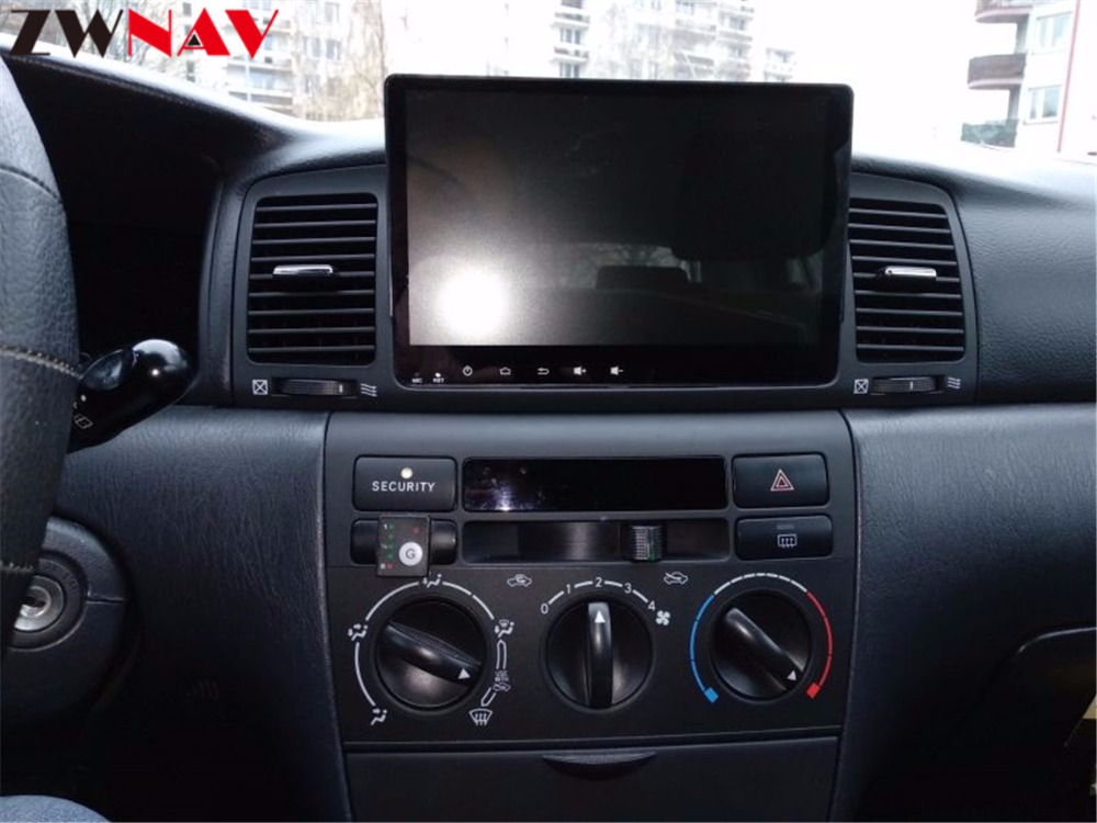 2 Din Android 8.0 Car GPS Navigation head unit For Toyota Corolla EX 2001 2006 multimedia Radio tape recorder no DVD player 4+32