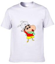 Crayon Shin-chan Cartoon T-shirt Nowara Shnnosuke summer Short Sleeve character casual