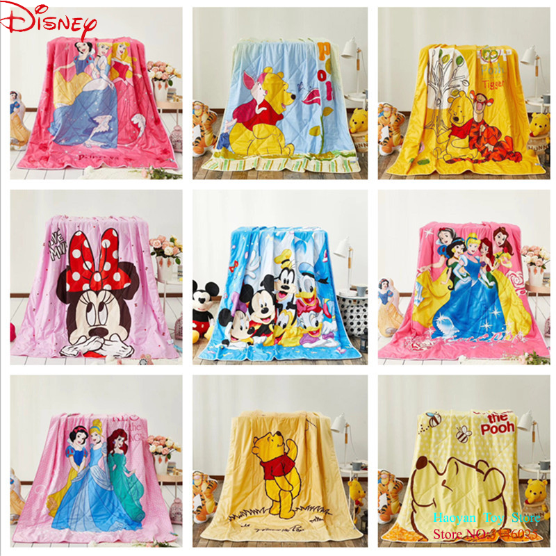 Disney Baby Plane Travel Cartoon Blanket Lilo Stitch Blanket Thin Soft Flannel Fabric 150*200cm Cartoon Bed Sofa Spreads fishbone fispecimens in clear lucite block educational instrument middle school biology school teaching aids