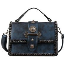 Vintage 2019 Summer New Fashion Luxury PU Leather Handbags Women Brand Famous Bags Designer Crossbody