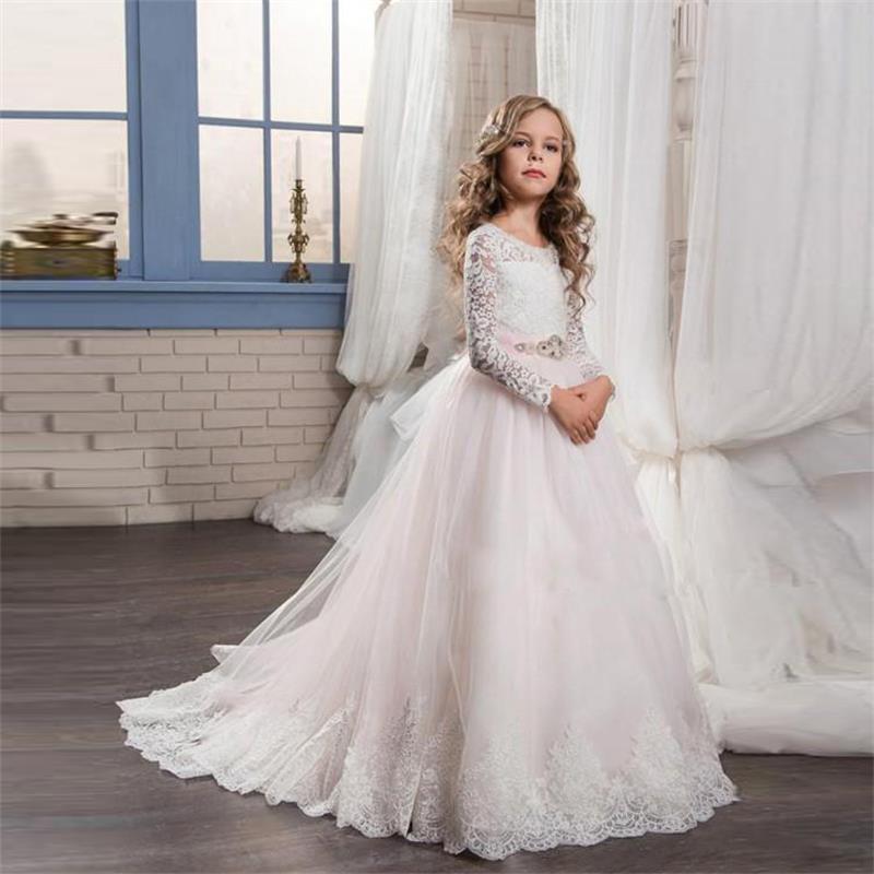 vestidos de primera comunion estilo romantico