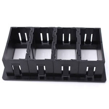 4 Black Plastic Rocker Switch Clip Panel Holder Housing ARB Carling Type