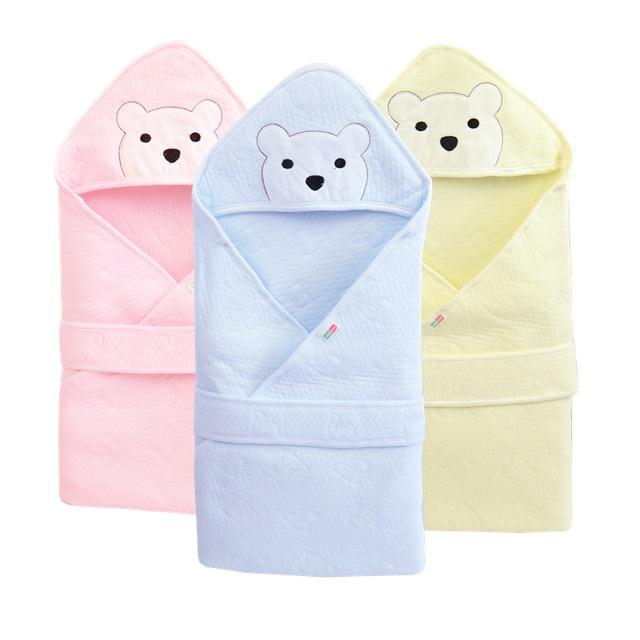 Летнее Детское одеяло для малышей Bebe хлопковые дышащие конверт для пеленания Одеяло s для новорожденных с капюшоном Sleepsack Parisarc Одеяло s