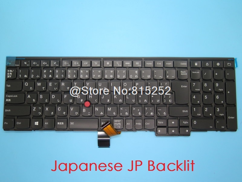 Keyboard For Lenovo For Thinkpad E540 W540 T540P L540 E531 T550 T560 W550S P50S Japanese JP JA France FR English US UK Sweden SD
