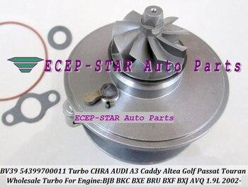 BV39 54399880011 54399700011 Turbo CHRA Cartridge Turbocharger For AUDI A3 Seat Altea VW Caddy Golf 2002- BJB BKC BXE BRU 1.9L
