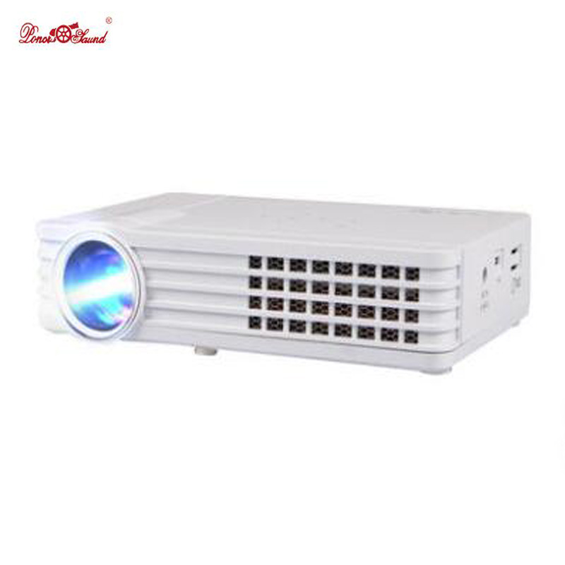 Poner Saund 3000Lumens Mini projector Portable DLP Digital Home theater support 1080P usb 3D LED projetor tv Android Proyector portable mini projector home cinema digital smart led projectors support 1080p movie pc video game can use mobile power supply