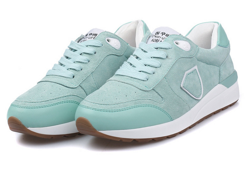 ФОТО Women Shoes Brand Shoes Mujer Spring 2017 Fashion Trainers Breathable Casuals Lace Up Flats Shoes Preppy Style Oxford New Design