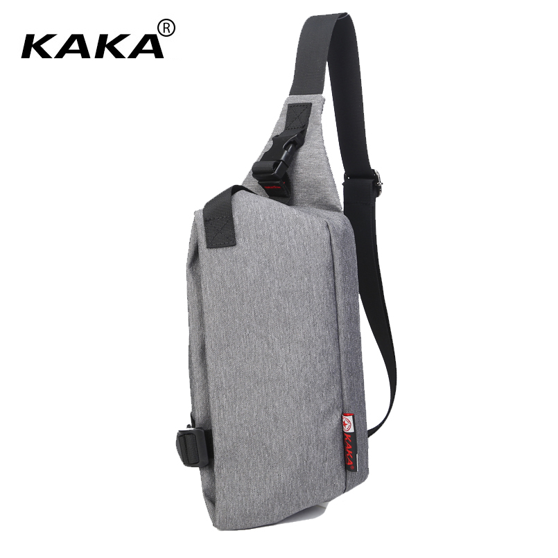 KAKA Fashion 2017 Unisex Men Women Messenger Bags Chest packs Cross Body Bags High Quality 5 Colors Shoulder Bags for Ipad Mini 2017 new unisex men messenger bag chest pack brand design korean and japan style simple women shoulder cross body bags for ipad