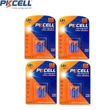 Alcalina 1.5 V Bateria Seca Modelo Szie LR1 N Sperker e bluetooth e jogadores Bateria 8 Pcs e 4 Cartão