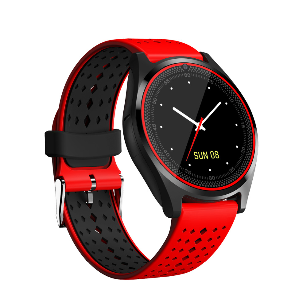 Bluetooth Smart Watch V9 For Apple Watch With Camera 2G SIM TF Card Slot Smartwatch Phone For Android IPhone Xiaomi Russia T15