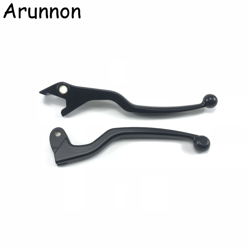 Motorcycle Handle GN 125 GS 125 Handle Lever Bar For Suzuki 125cc GN125 GS125 Clutch lever and front brake lever(China)