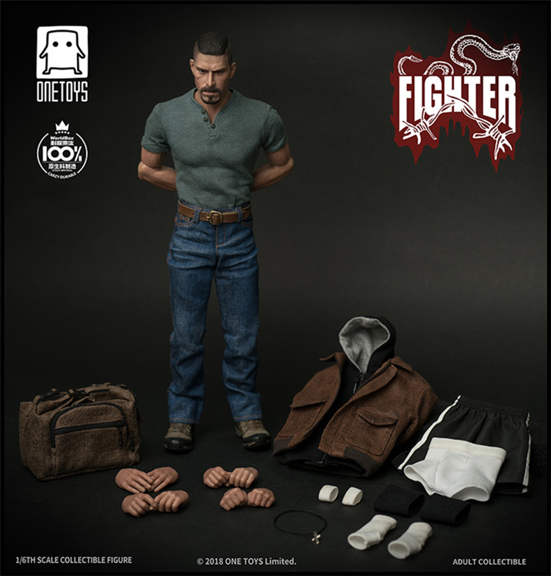 One Toy World Box 1//6 Fighter Scott Adkins Action Figure Body  Deluxe Version