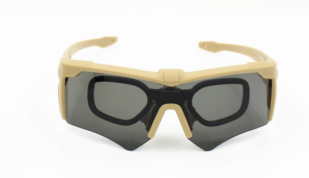 Nueva marca AF gafas militares 3 lentes balístico Deporte Militar ... 70f93a4a52ce