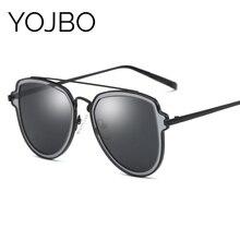 YOJBO  Polarized Vintage Sunglasses Women 2017 Fashion Retro Mirror Men Vintage Brand Designer Sun Glasses Gafas de sol