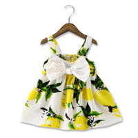 Summer Children S Clothing Dress Princess Baby Girls Child Cloth Sleeveless Floral Strap Dress Korean Dress